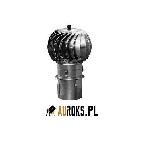 Turbowent podstawa wciskana otwierana turbina i dolot bl. chromoniklowa fi 250 marki Darco