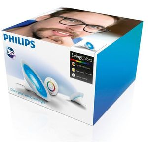 Philips 70998/60/PH - LED Lampa stołowa LIVING COLORS 1xLED/8W przeźroczysta, 70998PH