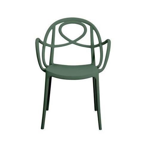 Krzesło ogrodowe etoile p zielone marki Green