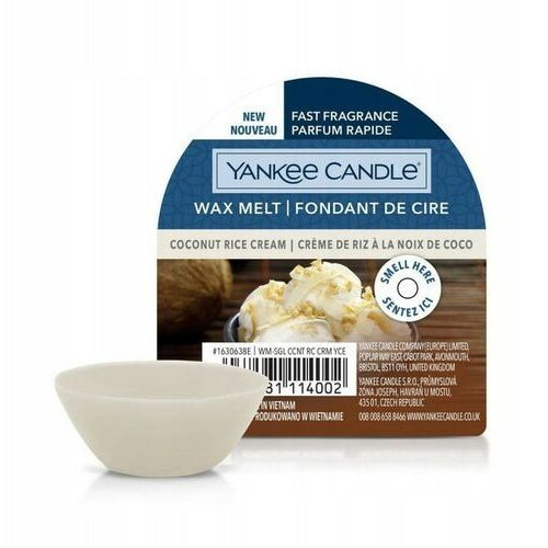 Yankee candle wosk 22g coconut rice cream (5038581114002)