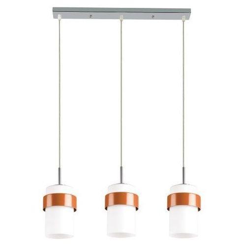 Lampa wisząca LIGHT PRESTIGE Miele LP-866/3P Pomarańczowy + DARMOWY TRANSPORT! (5907796362884)