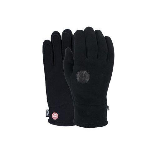 Rękawice snowboardow - link tt w/s fleece glove black (bk) marki Pow