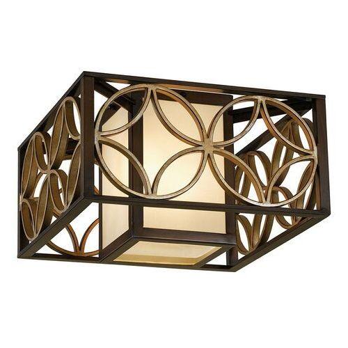 Lampa sufitowa remy z brązowym wykończeniem marki Elstead
