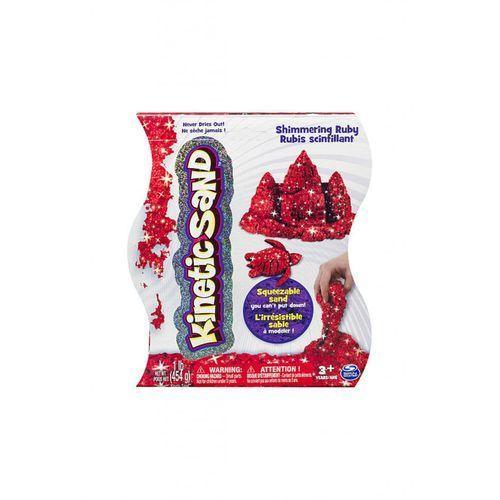 Piasek kinetyczny SPIN MASTER Kinetic Sand Połyskujący Czerwony (454 g) (5907486768095)