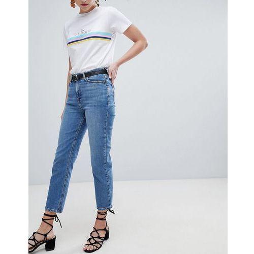 New Look Harlow Straight Leg Crop Jean - Blue