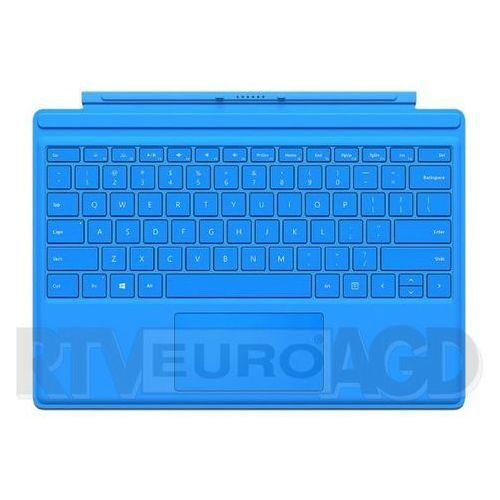 Microsoft Surface Pro Type Cover QC7-00095 (jasnoniebieski), QC7-00095