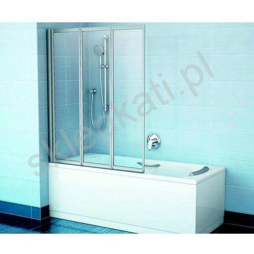 RAVAK panel boczny 75 U biały + panelkit CZ00130A00 (8595096892520)