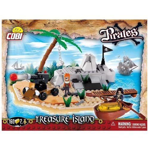 Piraci 160 Elementów, Wyspa Skarbów - Cobi Klocki
