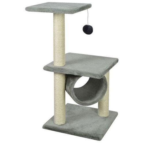 Vidaxl drapak dla kota 65 cm szary