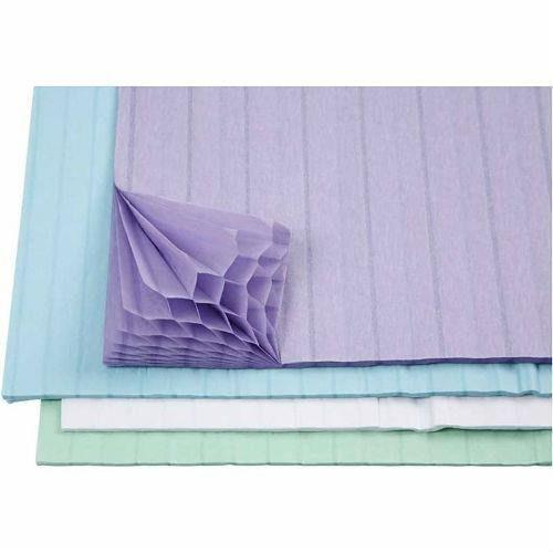 Papier o strukturze plastra miodu zestaw 8 szt. - 01 marki Creativehobby