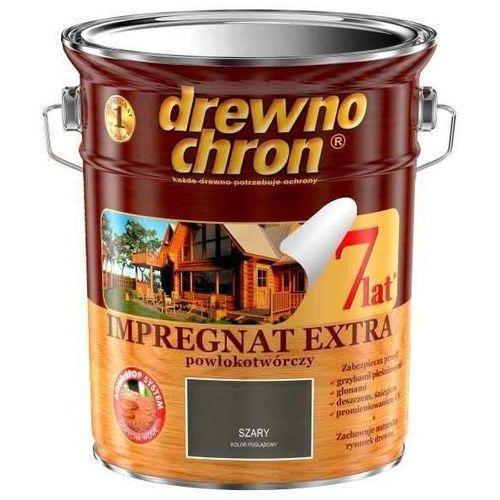 Drewnochron - impregnat, szary, 4.5 l (extra powłokotwórczy)