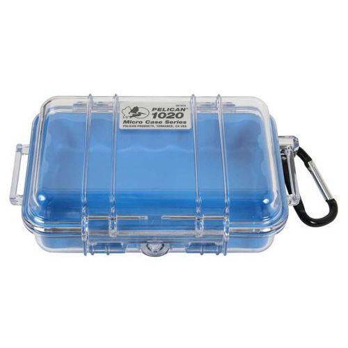 1020 mikro skrzynia / niebieska-przeźroczysta marki Peli