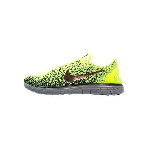 Nike  free run distance shield but do biegania mężczyźni czerwony buty barefoot i buty minimalistyczne (0675911145227)