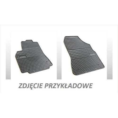 Frogum Dywaniki gumowe czarne z kompletem stoperów - volkswagen sharan (ii) od 2010, 3 rząd siedzeń