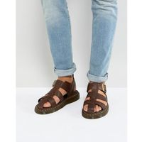 galia carpathian sandals in tan - tan, Dr martens