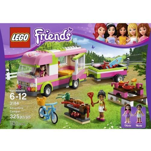 Lego FRIENDS Samochód kempingowy 3184. Najniższe ceny, najlepsze promocje w sklepach, opinie.