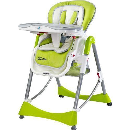 Krzesełko do karmienia bistro zielony marki Caretero