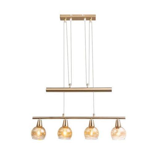 Globo Lara Lampa Wisząca LED Złoty, 4-punktowe - Nowoczesny/Design - Obszar wewnętrzny - Lara - Czas dostawy: od 6-10 dni roboczych