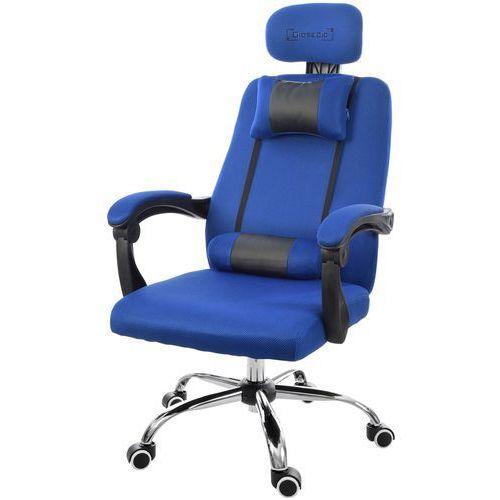 Giosedio Fotel biurowy niebieski, model gpx008