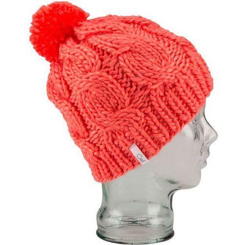 Nowa czapka the rosa beanie neon peach marki Coal