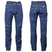 Męskie jeansy motocyklowe z kevlarem W-TEC NF-2930, Niebieski, L, jeansy