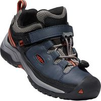 KEEN dziecięce buty trekkingowe Targhee Low WP blue nights/rooibos tea US 8 (24 EU)