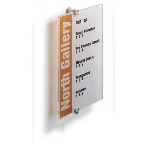 Tabliczka informacyjna Durable Cristal Sign 4825