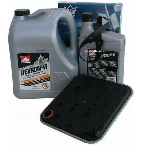 Filtr oraz olej dextron-vi automatycznej skrzyni biegów 4spd plymouth breeze marki Petro-canada