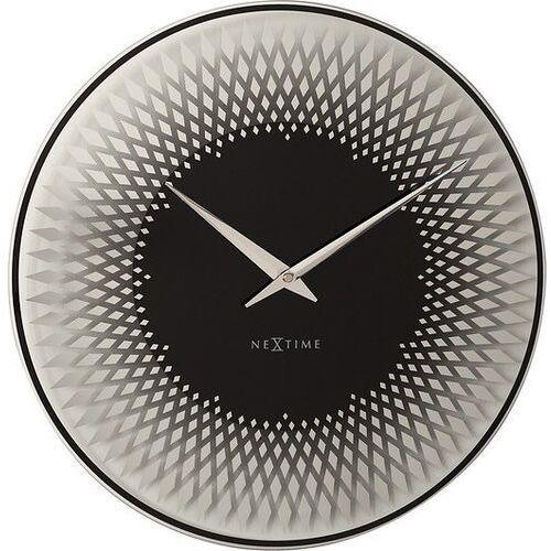 Zegar ścienny Sahara srebrny