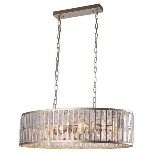Evo Lampa wisząca p06223cp kryształowa oprawa glamour crystal zwis na łańcuchach szampański (5902115963223)
