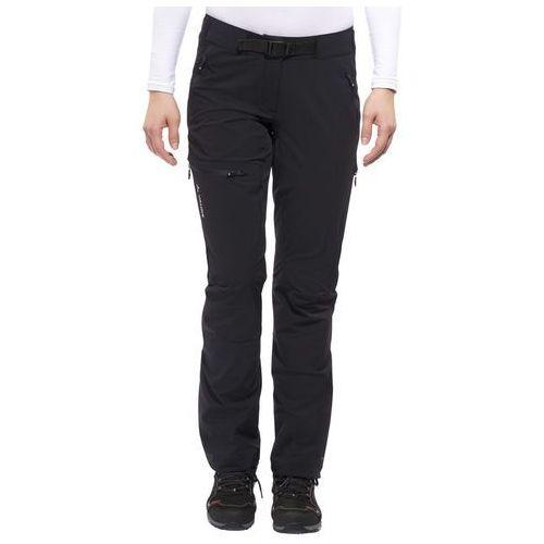 VAUDE Badile II Spodnie długie Kobiety Short czarny 42-krótkie 2018 Spodnie Softshell, kolor czarny