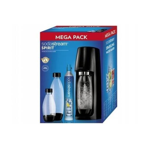 Saturator spirit mega pack czarny marki Sodastream