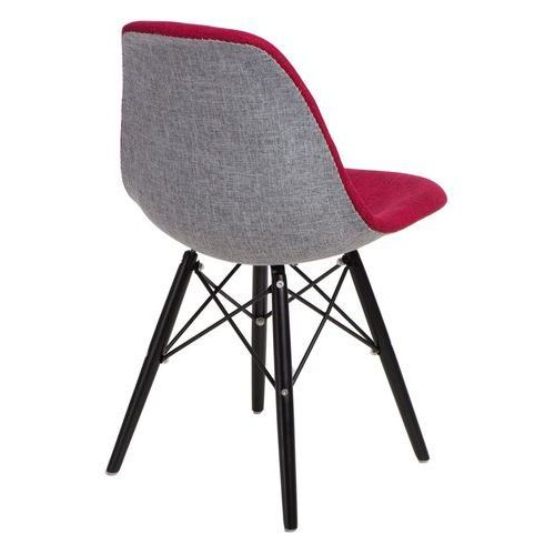 Krzesło p016w duo czer. szare/black modern house bogata chata marki D2.design