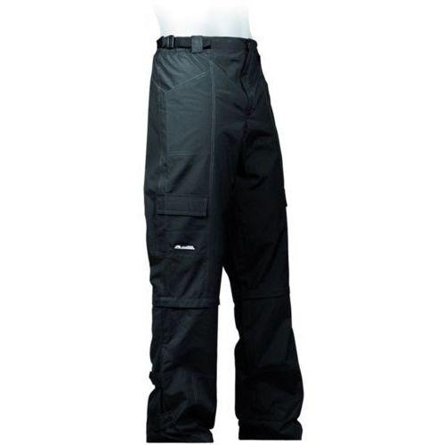610-30-47_ACC-XXXL Spodnie rowerowe z odpin. nogawkami VERANO czarne XXXL