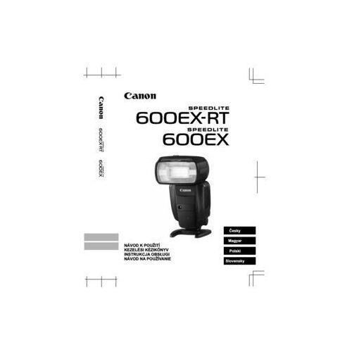 Canon Instrukcja speedlite 600ex-rt