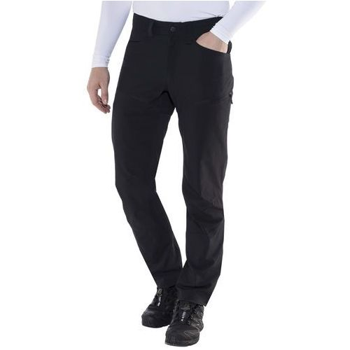 Haglöfs MID II FLEX Spodnie materiałowe true black solid, kolor szary