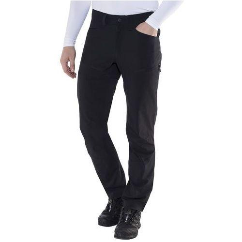 mid ii flex spodnie materiałowe true black solid marki Haglöfs