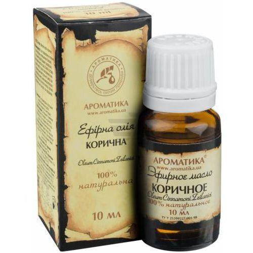 Olejek cynamonowy (cynamon) cinnamon essential oil 100 % naturalny, 5 ml marki Aromatika