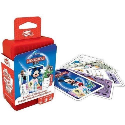 Gra karciana Shuffle. Monopoly Deal Disney