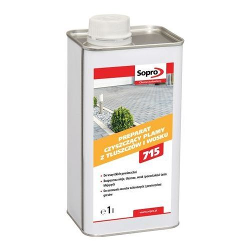 Sopro Preparat czyszczący plamy z tłuszczów i wosku OWE 715 1 l (4005734715813)