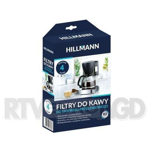 Hillmann filtry do kawy 1x4 80 szt.