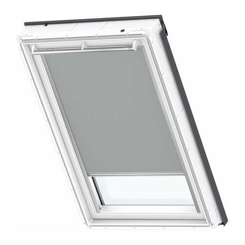 Roleta na okno dachowe manualna standard dkl sk08 114x140 zaciemniająca szara marki Velux