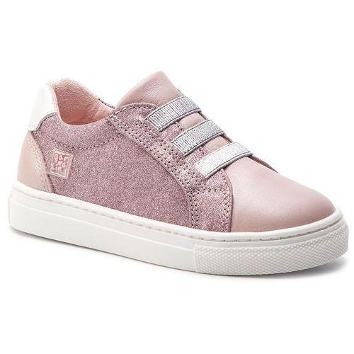 Sneakersy GARVALIN - 192611 A-Rosa Sauvage Y Glitter, kolor różowy