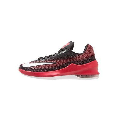 Nike Performance AIR MAX INFURIATE Obuwie do koszykówki black/white/gym red/dark grey (0886548133963)