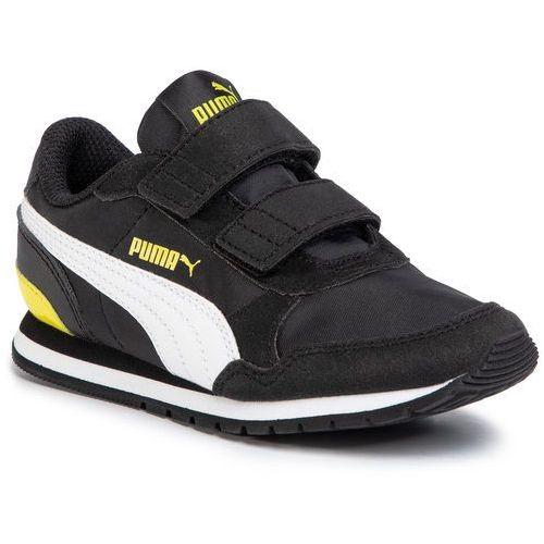 Sneakersy PUMA - St Runner V2 Nl V Ps 365294 17 Puma Black/Puma White/Meadow, kolor czarny