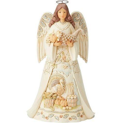 Jim shore Anioł obfitości i dobrobytu simple splendor 6005254 figurka ozdoba świąteczna