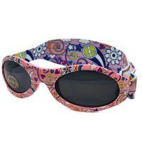 Okulary przeciwsłoneczne dzieci 0-2lat UV400 BANZ - Peace (9330696046800)