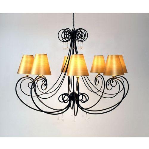 Holländer MIA lampa wisząca Czarny, 8-punktowe - Klasyczny - Obszar wewnętrzny - MIA - Czas dostawy: od 8-12 dni roboczych (4250151325941)