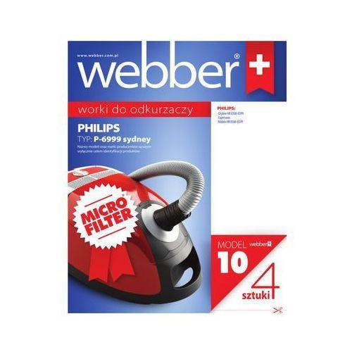 Worek do odkurzacza WEBBER 10 (4 sztuk) (5907265008114)