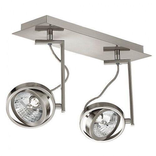==lampa z ekspozycji-- EGLO 89953 lampa techniczna Reflektor CUBETO 2xG9/33W